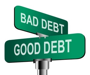 GOOD AND BAD DEBT<br> THE REALITY
