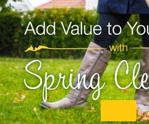 Add Value to Your Home with a Spring Cleaning