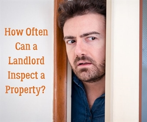 When can a landlord visit their property